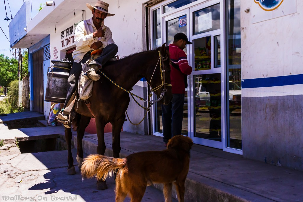 Horserider in a local village near Puerto Vallarta in the Riviera Nayarit, Mexico on Mallory on Travel adventure travel, photography, travel Iain_Mallory_Mex17201