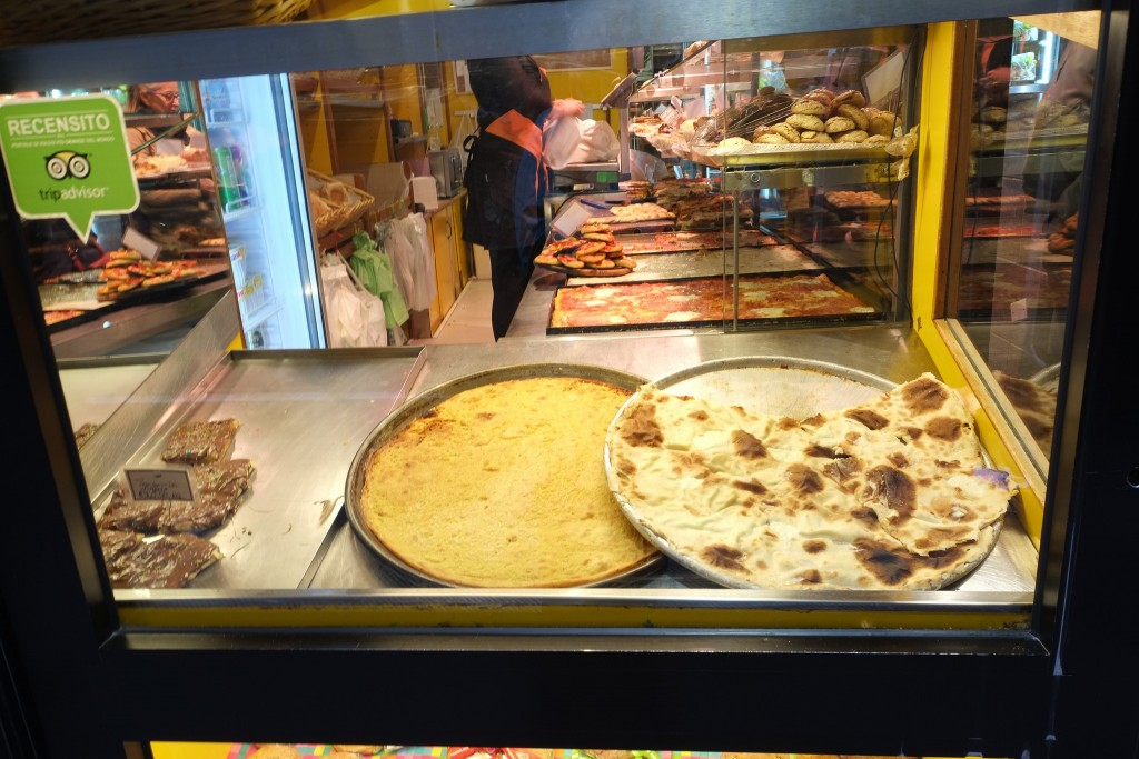 A Genoese focaccia bakery in Genoa, Liguria in Italy on Mallory on Travel adventure travel, photography, travel Liguria 2015-135