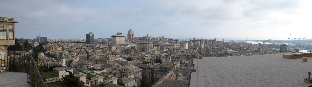 Liguria - A view of the city of Genoa, Italy on Mallory on Travel adventure travel, photography, travel Liguria 2015-15