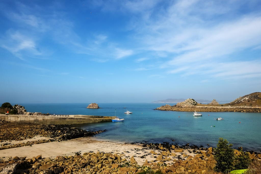 The quay and harbour of Hugh Town, capital of St Mary's in the Scilly Isles on Mallory on Travel adventure travel, photography, travel Scilly Isles-251