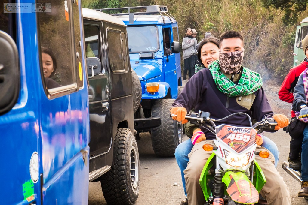 Motorcycle taxi tour on Mount Bromo in the Tennger massif of East Java, Indonesia on Mallory on Travel adventure travel, photography, travel Iain_Mallory_Indo8218