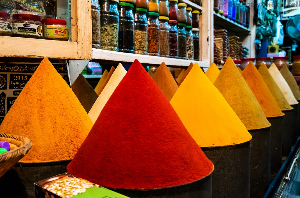 Space stall in the Medina of Marrakech, Morocco in North Africa on Mallory on Travel adventure travel, photography, travel Iain_Mallory_Mor16142