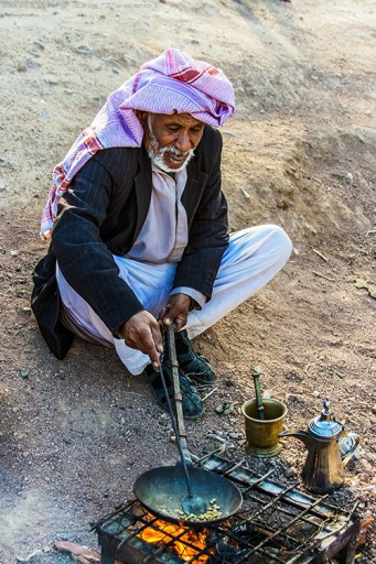 Coffee making in a nomadic Bedouin camp in the Syrian desert, Jordan on Mallory on Travel adventure travel, photography, travel Iain_Mallory_Jordan1408631