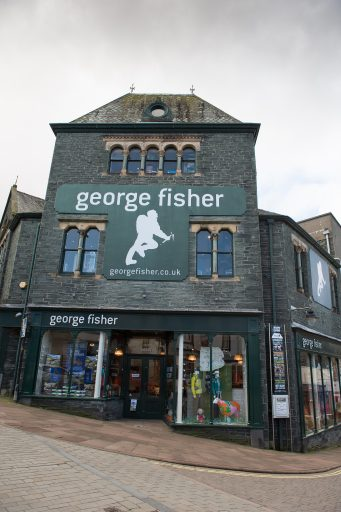 George Fisher Lakeland, Outdoor store, Keswick in the northern Lake District, Cumbria on Mallory on Travel adventure travel, photography, travel George Fisher-7