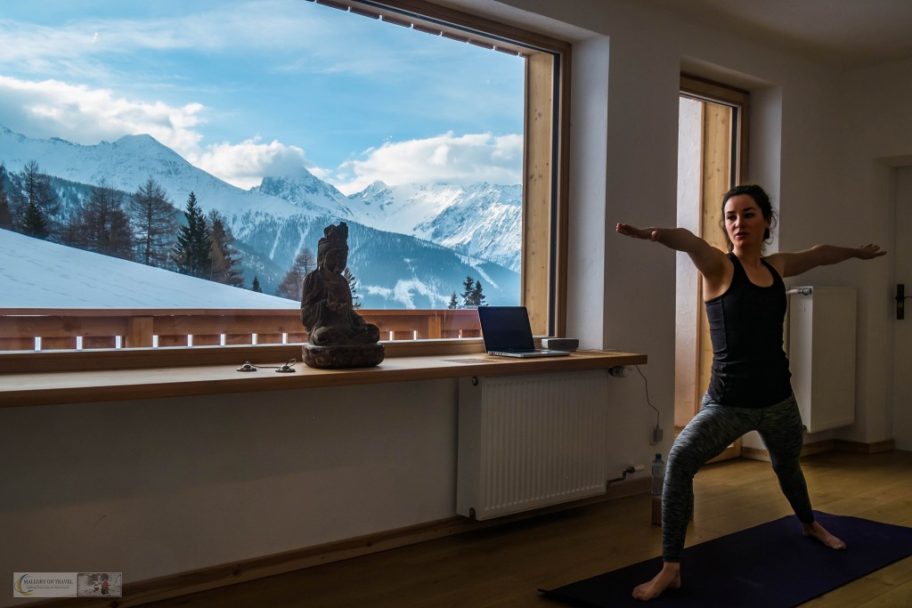 Morning yoga at MoaAlm mountain retreat in the Hohe Tauern National Park, in the east Tirol, Austrian Alps on Mallory on Travel adventure travel, photography, travel Iain_Mallory_Austria (47 of 135) MoaAlm