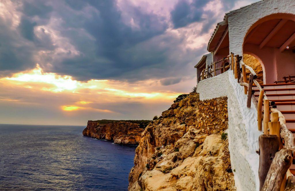 Cova d'en Xoroi nightclub in Menorca on the Balearic Islands of Spain on Mallory on Travel adventure travel, photography, travel Iain Mallory_Menorca3402