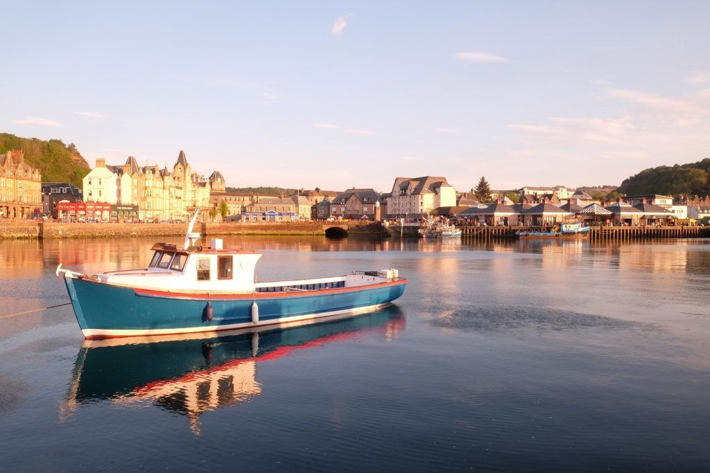 The Oban fishing fleet as the sun sets in the highlands and islands of Scotland on Mallory on Travel adventure travel, photography, travel Iain Mallory_Oban3430