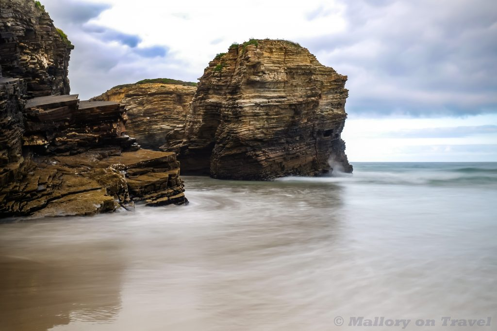 Sea stacks at Beach of the Cathedrals, Galicia, northern Spain on Mallory on Travel adventure travel, photography, travel Iain Mallory_Galicia7675