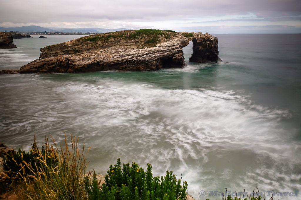Beach of the Cathedrals, known as Beach of the Holy Waters in Galicia on the north west Atlantic coast of Spain on Mallory on Travel adventure travel, photography, travel Iain Mallory_Galicia7689