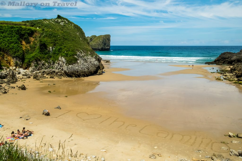A beach in Asturias, on the Camino de Santiago in northern Spain on Mallory on Travel adventure travel, photography, travel Iain_Mallory_Spain-7351