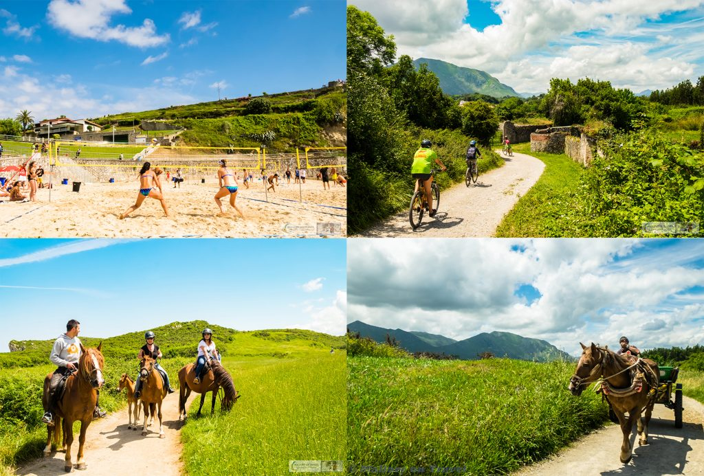 Cycling in Asturias collage, activities in northern Spain on the Camino de Santiago (norte) or St James Way on Mallory on Travel adventure travel, photography, travel Iain Mallory_Asturias-1-21
