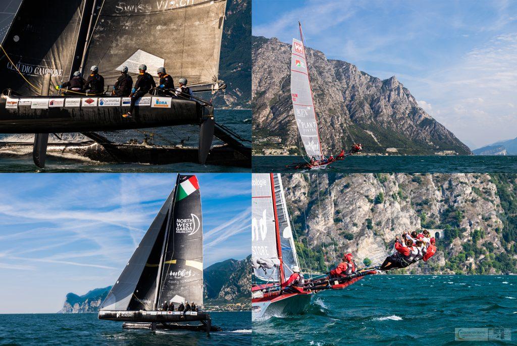 Participants in the Centomiglia regatta on Lake Garda in Lombardia in Italy on Mallory on Travel adventure travel, photography, travel iain-mallory_garda-1-1-1