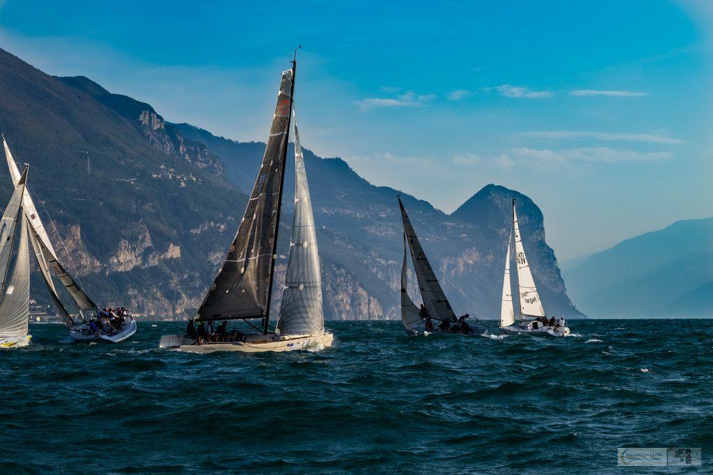 Yachts of the Centomiglia regatta in Lake Garda in the Lombardia region of Italy on Mallory on Travel adventure travel, photography, travel iain-mallory_garda-1-29