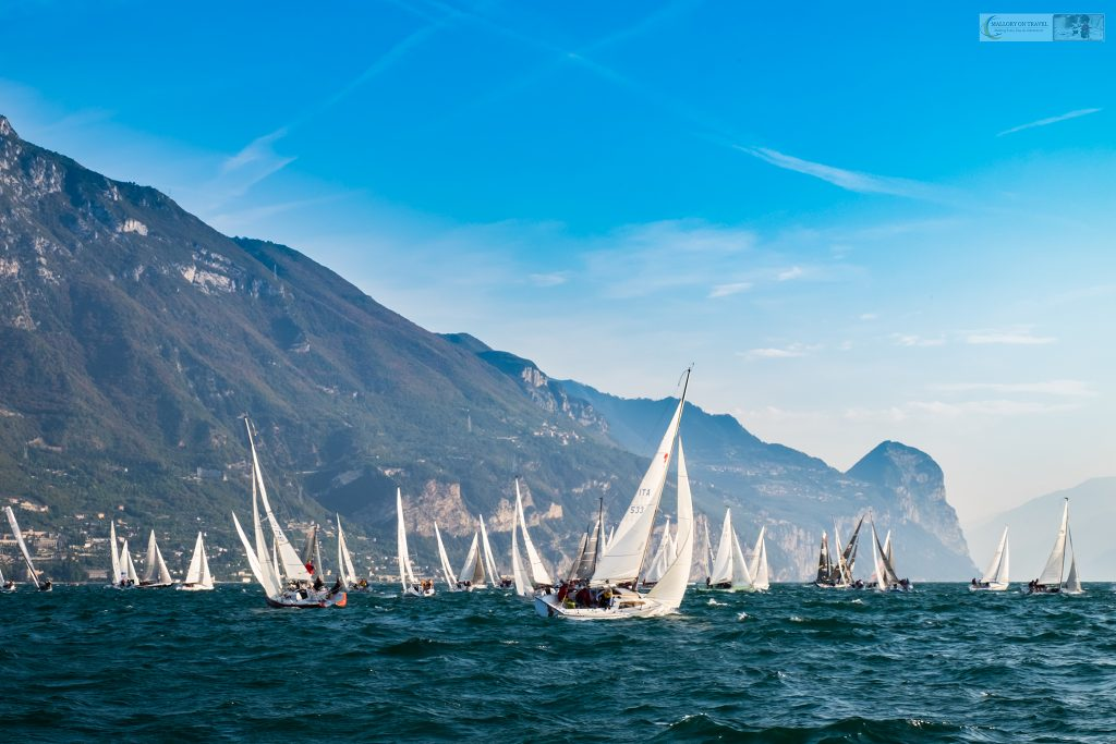 The Centomiglia regatta, a 100 mile yacht race on Lake Garda, Lombardia in Italy on Mallory on Travel adventure travel, photography, travel iain-mallory_garda-1-4