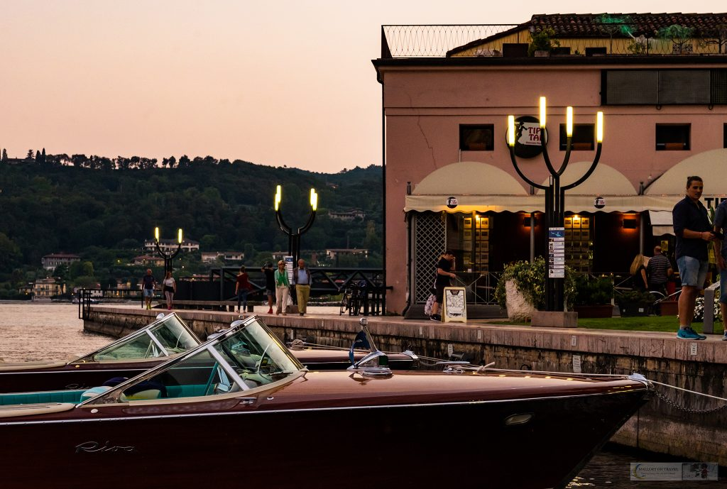 Italian cruiser speed boats at Salo on the shores of Lake Garda in the Gardone Riviera of Lombardia, Italy on Mallory on Travel adventure travel, photography, travel iain-mallory_garda-1-43