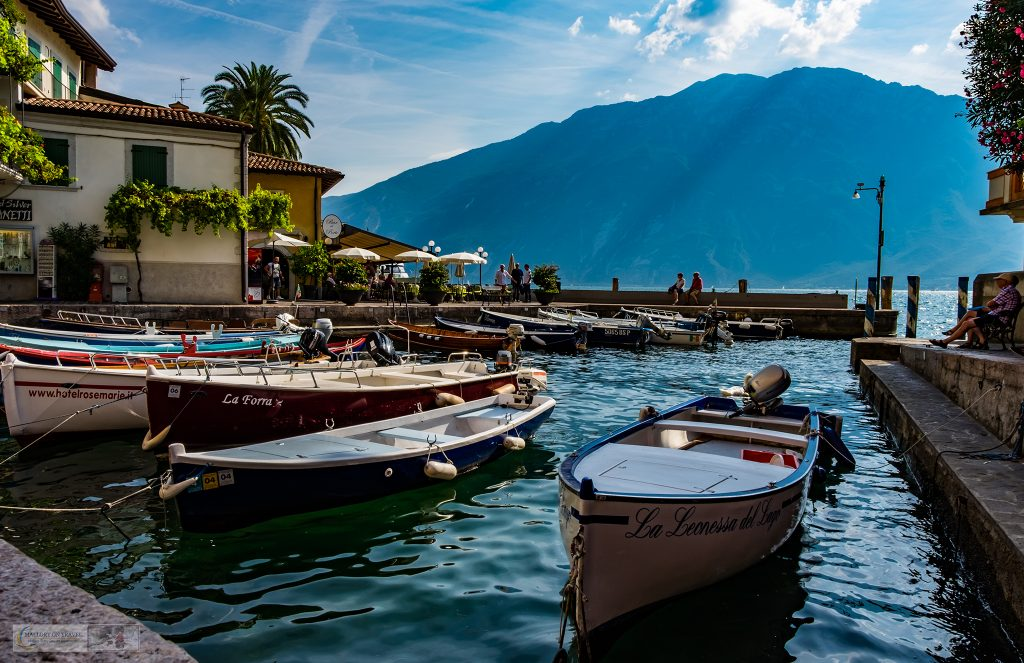 A Gardone Riviera harbour on the shores of Lake Garda in the Lombardia region of Italy on Mallory on Travel adventure travel, photography, travel iain-mallory_garda-1-47