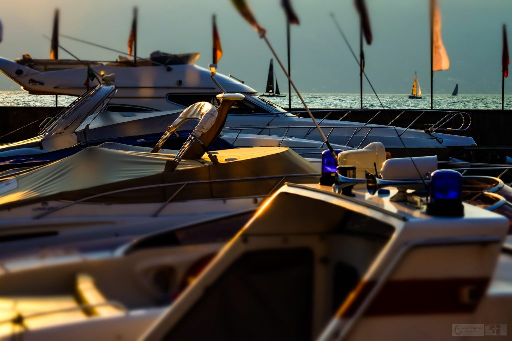 Dawn in the marina on Lake Garda, Lombardia in Italy before the start of the Centomiglia regatta yacht race on Mallory on Travel adventure travel, photography, travel iain-mallory_garda-1-59
