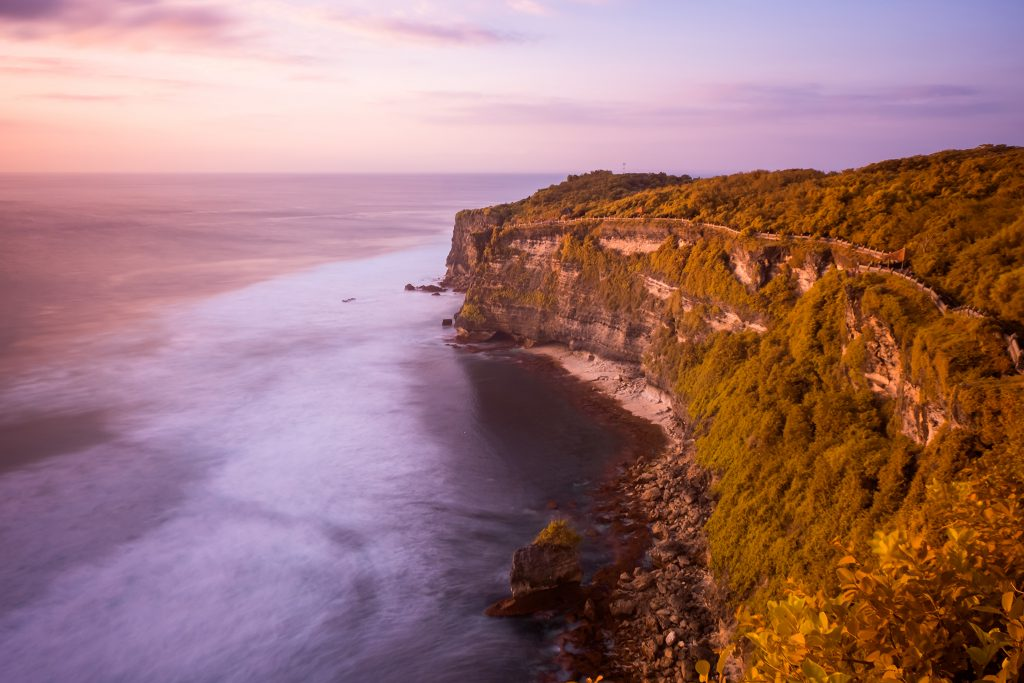 Sunset over the Indian Ocean at Uluwatu, Bali in Indonesia on Mallory on Travel adventure travel, photography, travel iain-mallory_indo-1-145