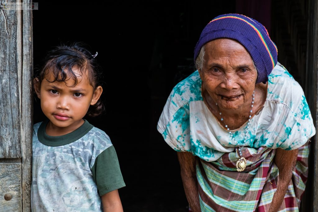 Culture of Indonesia; Generations of Manggaraian women in the village of Melo, near Lubuan Bajo on Flores in the Komodo National Park, in the Republic of Indonesia on Mallory on Travel adventure travel, photography, travel iain-mallory_indo-1-134