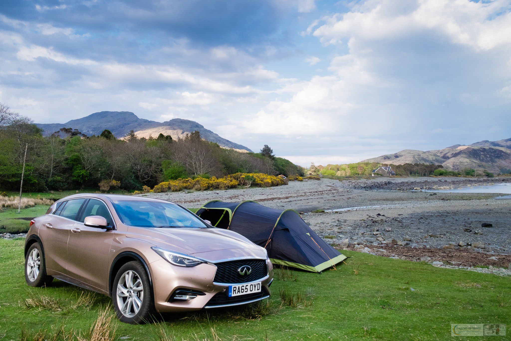 A wild campsite on the Isle of Mull, in the Inner Hebrides, the highlands and islands of Scotland on Mallory on Travel adventure travel, photography, travel iain-mallory_scotland3564