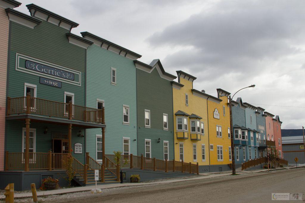 The main street of Dawson City, capital of the Klondike Gold Rush in The Yukon, Canada on Mallory on Travel adventure travel, photography, travel iain-mallory_yukon-106
