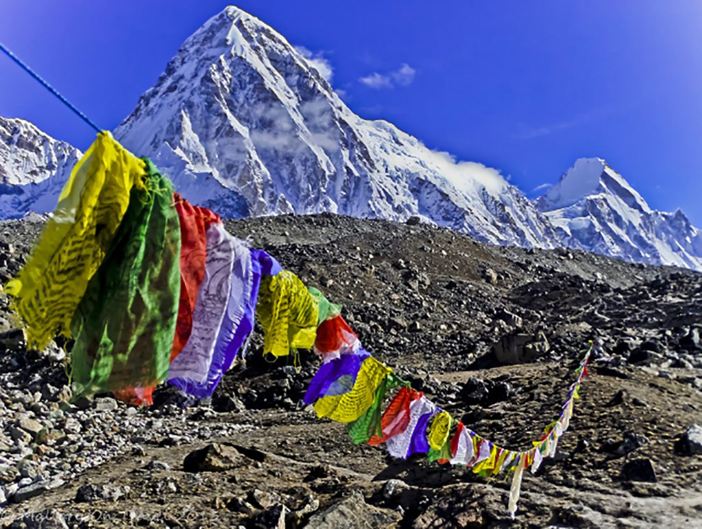 Travel inspiration; The high mountains of the Himalayas in Sagarmatha National Park, Nepal on Mallory on Travel adventure travel, photography, travel Iain Mallory-300-124