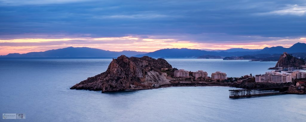 Águilas and its pier at sunset, in the Murcia region of Costa Cálida, Spain on Mallory on Travel adventure travel, photography, travel iain-mallory_murcia-001-20