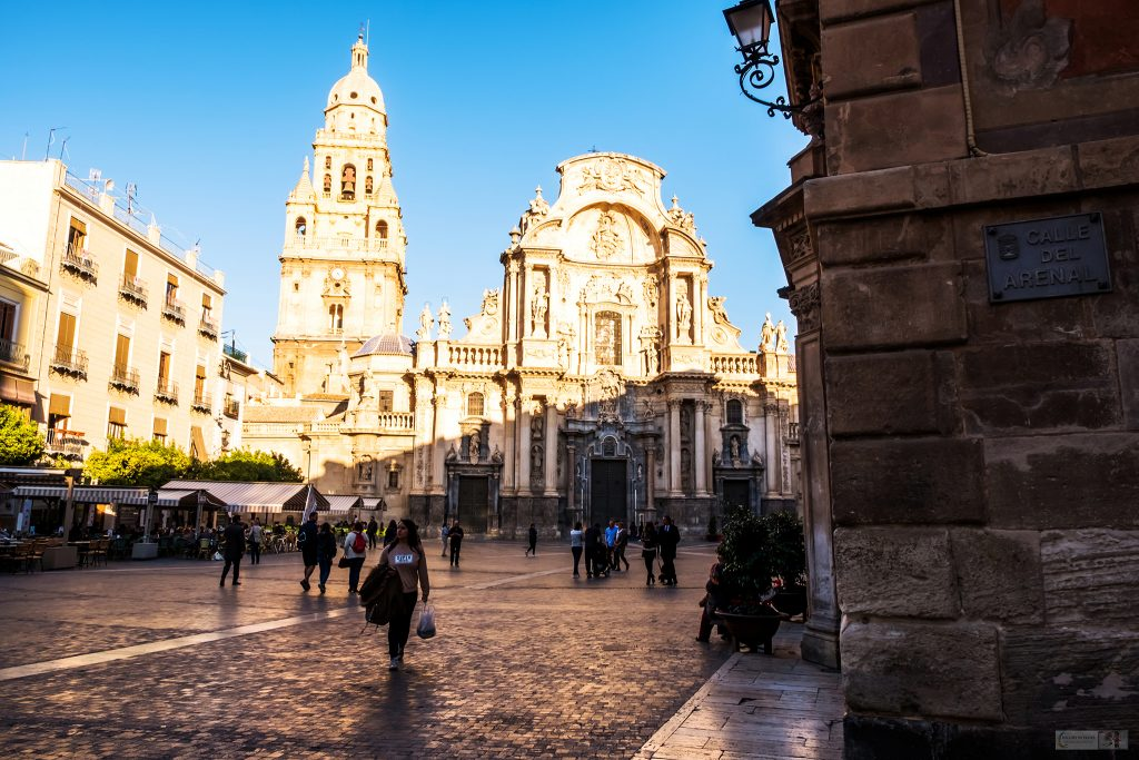 Street life in Murcia; The Cathedral of Murcia or Cathedral Church of St Mary in Murcia, in the Costa Calida region of Spain on Mallory on Travel adventure travel, photography, travel Iain Mallory_Murcia 001-123