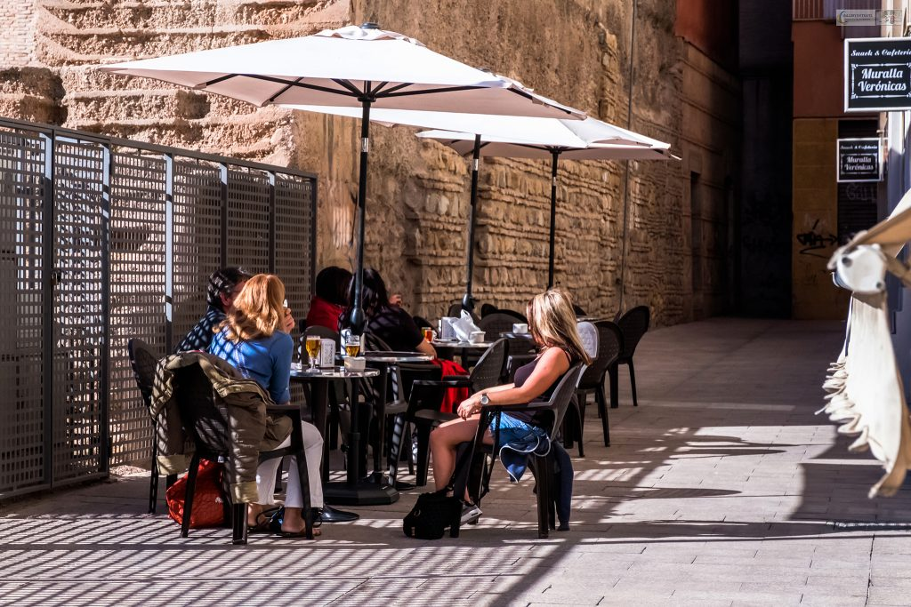 Street life in Murcia; Cafe culture in the city centre of Murcia in the Costa Calida region of Spain on Mallory on Travel adventure travel, photography, travel Iain Mallory_Murcia 001-180