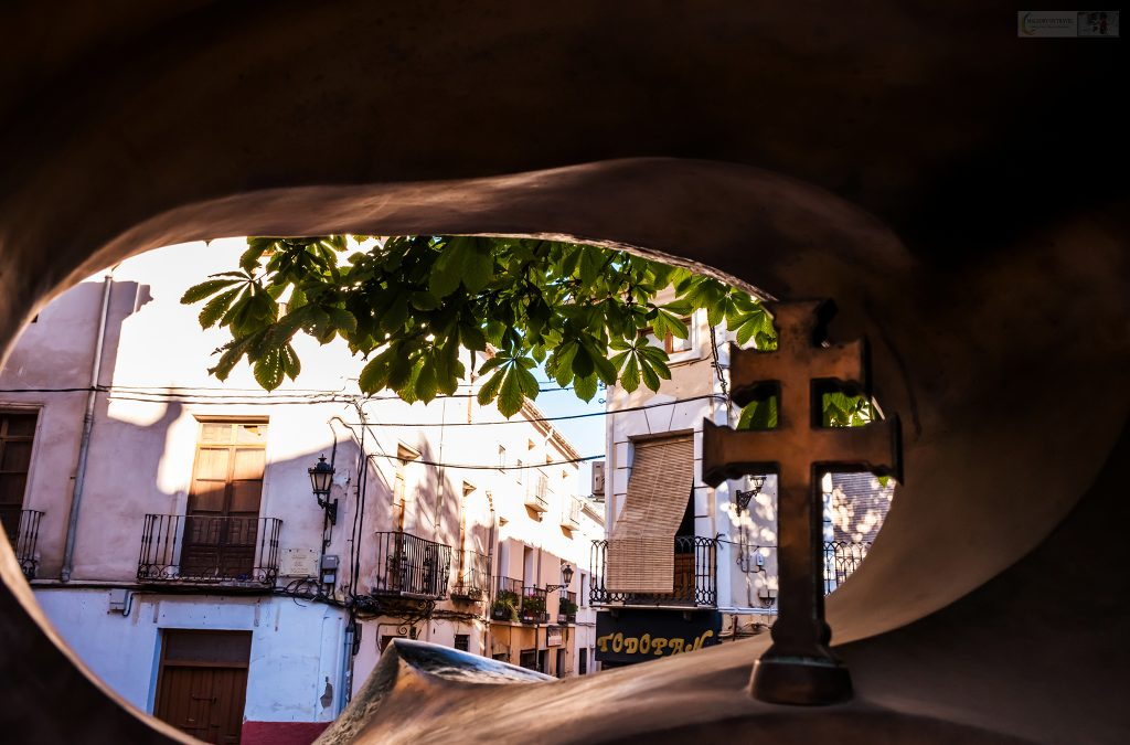 The Caravaca Cross in a city sculpture in the fifth holy city of Caravaca de la Cruz in the Spanish region of Murcia on Mallory on Travel adventure travel, photography, travel Iain Mallory_Murcia-1-41