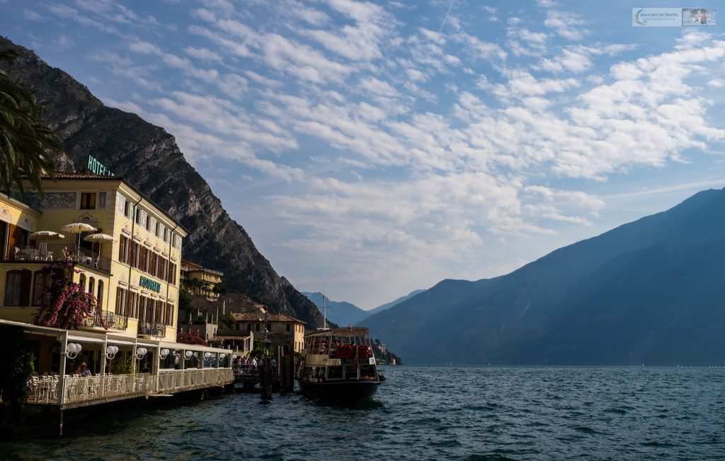 Travel inspiration for gloomy days, The ferry on Lake Garda in the Gardone Riviera, Lombardia in Italy on Mallory on Travel adventure travel, photography, travel Iain Mallory_Indo-1-14