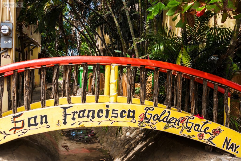 "The ""Golden Gate"" bridge in the San Francisco of Mexico, San Pancho on the pacific coast of Riviera Nayarit on Mallory on Travel adventure travel, photography, travel Iain Mallory_Mex 001-30"