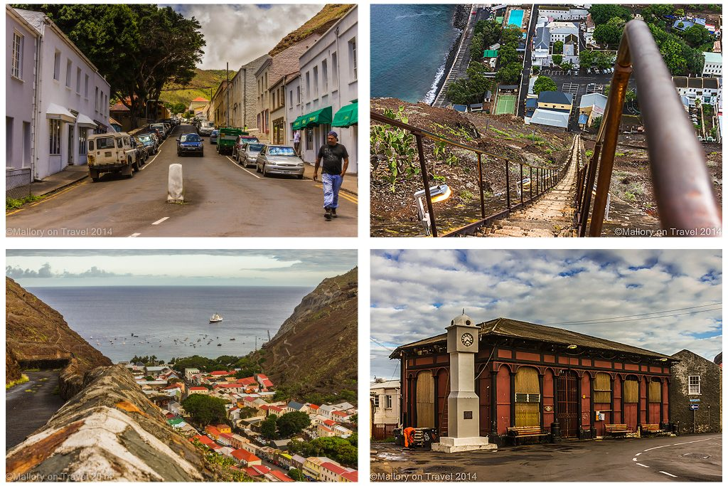 Views around Jamestown, St Helena the capital of the British Overseas Territory in the south Atlantic on Mallory on Travel adventure travel, photography, travel Iain Mallory-Jamestown_Montage1