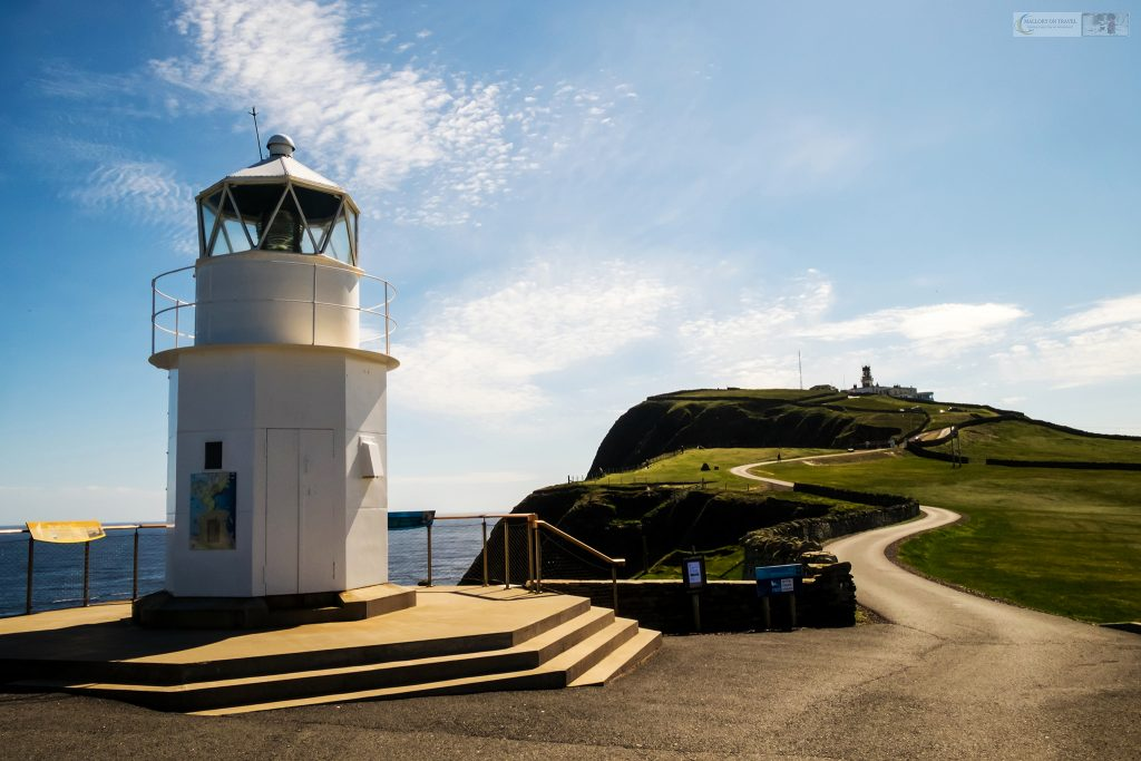 Highland road trip highlights; The lower lighthouse at Sumburgh Head, Shetland on the west coast of Scotland on Mallory on Travel adventure travel, photography, travel Iain Mallory_Scotland 001-18