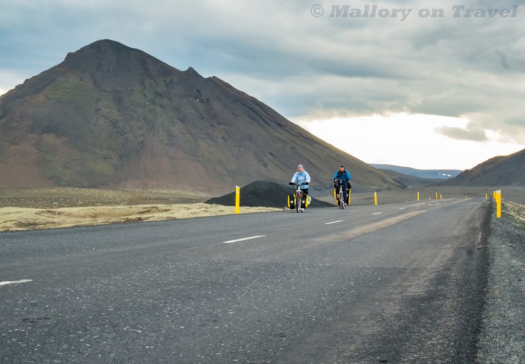 A couple cycling and scootering that I encountered on a road trip through east Iceland on Mallory on Travel adventure travel, photography, travel Iain_Mallory_Iceland-5177-2