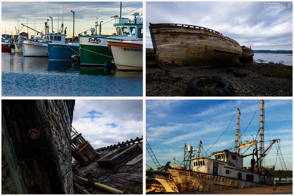 Visual storytelling; Fishing vessels from Caraquet, New Brunswick, Canada, San Blas the Riviera Nayarit, Mexico and the Isle of Mull on Scotland's west coast on Mallory on Travel adventure travel, photography, travel Iain Mallory-Scotland1