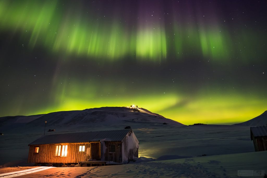 The Aurora Borealis or Northern Lights over Longyearbyen on Spitzbergen, Svalbard in Arctic Norway on Mallory on Travel adventure travel, photography, travel Iain Mallory_Svalbard-1-9