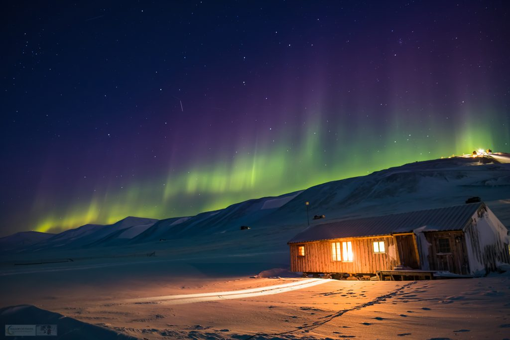 The Northern Lights over Camp Barentz near Longyearbyen, Spitzbergen, the largest island in the Svalbard archipelago, Arctic Norway on Mallory on Travel adventure travel, photography, travel Iain Mallory_Svalbard-1-8