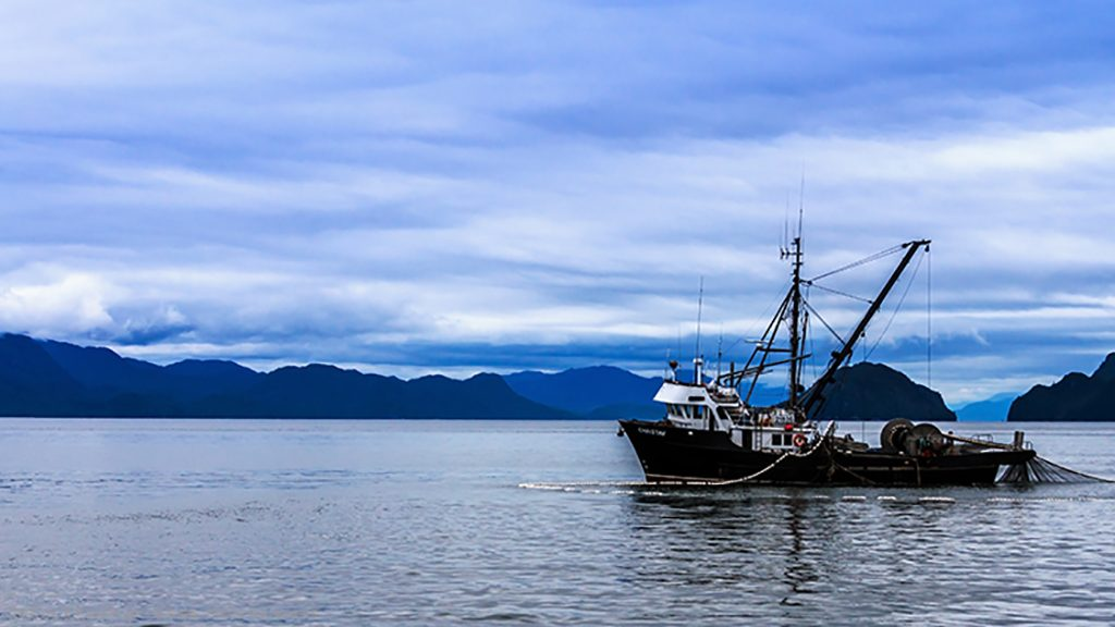 Earth Day; A small fishing boat operating in the sound off Prince Rupert in the province of British Columbia, Canada on Mallory on Travel adventure travel, photography, travel Iain_Mallory_Can1400335