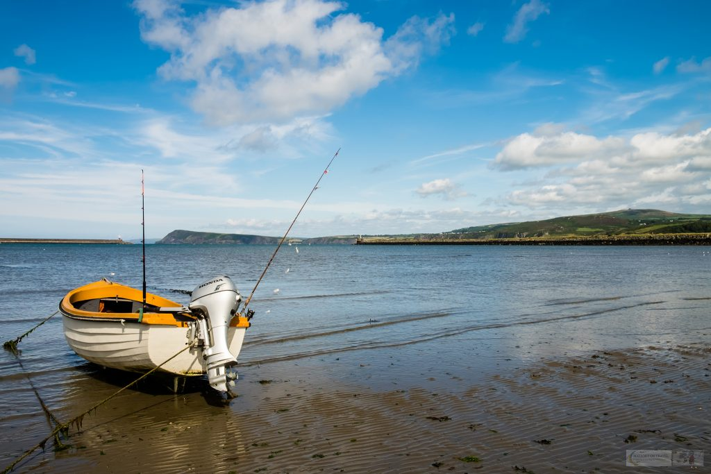 Finish point of the Cycle Route of Legends, Fishguard and Goodwick Bay on the Pembrokeshire coast of South Wales on Mallory on Travel adventure travel, photography, travel Iain Mallory_wales-1-15