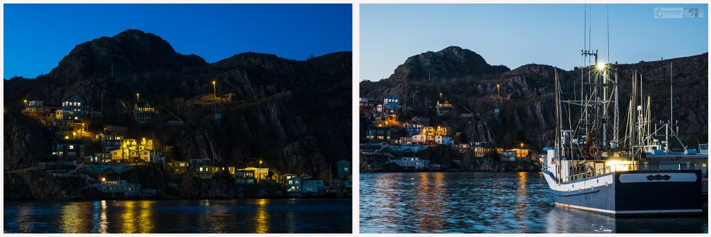 Twilight at the Battery, St John's, Newfoundland and Labrador, Canada on Mallory on Travel adventure travel, photography, travel Iain Mallory_battery montage