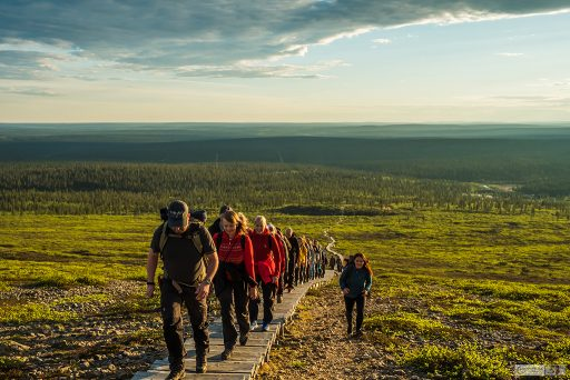 Hiking up Kiilopää fell near Saariselkä, Inari in the Arctic Circle in northern Finland on Mallory on Travel adventure travel, photography, travel Iain Mallory_finland-1-56