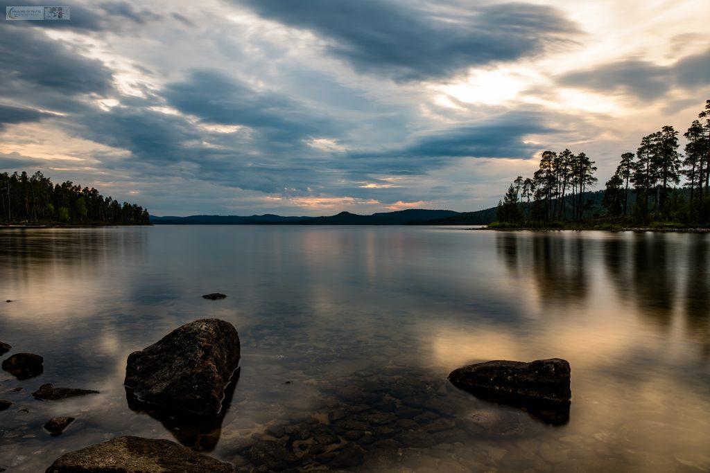 A Finnish lake near Saariselkä in Inari, during the nightless nights of an Arctic summer in northern Finland on Mallory on Travel adventure travel, photography, travel Iain Mallory_finland-1-90