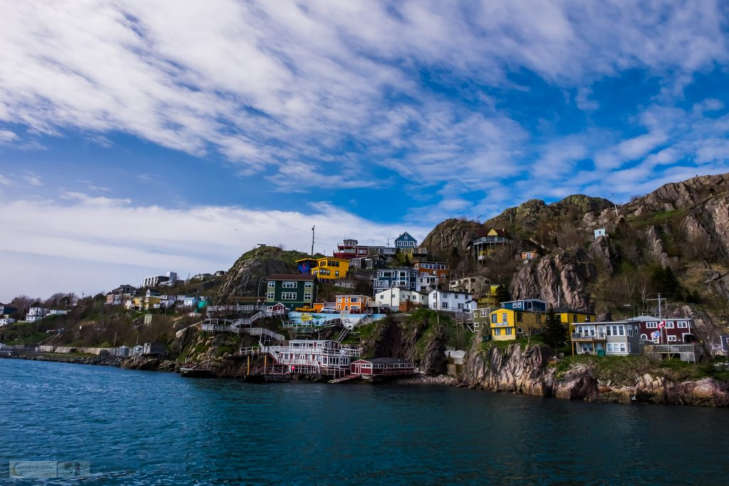 The Battery below Signal Hill in the harbour of St John's, capital city of the province of Newfoundland and Labrador in Canada on Mallory on Travel adventure travel, photography, travel Iain Mallory_newfoundland-1-57