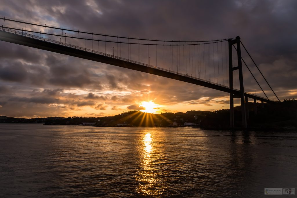 """Bridge at the gateway to Bergen, Norway as the Windstar """"Star Pride"""" passes beneath it on the way to Orkney, Scotland on Mallory on Travel adventure travel, photography, travel Iain Mallory_windstar-1-79"""