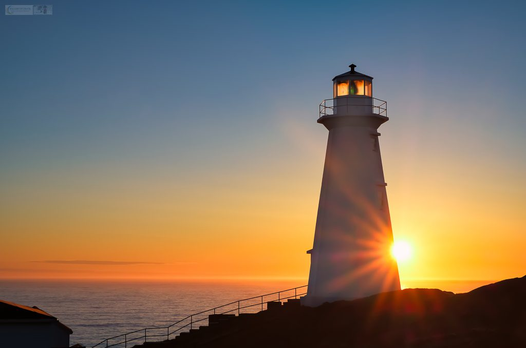 Sunrise at the new lighthouse on Cape Spear, near St John's and Petty Harbour, on the Avalon Peninsula in Newfoundland, Canada on Mallory on Travel adventure travel, photography, travel Iain Mallory_stjohns-7
