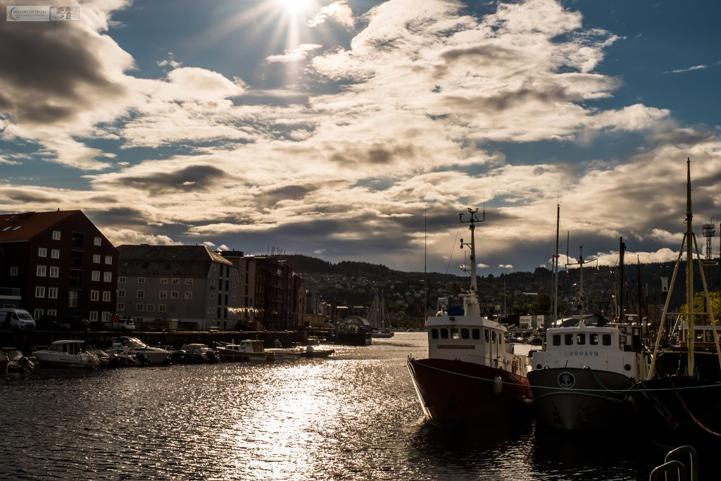 The harbour in Trondheim, the capital city of Trondelag, Norway on Mallory on Travel adventure travel, photography, travel Iain Mallory_trondelag-1-8