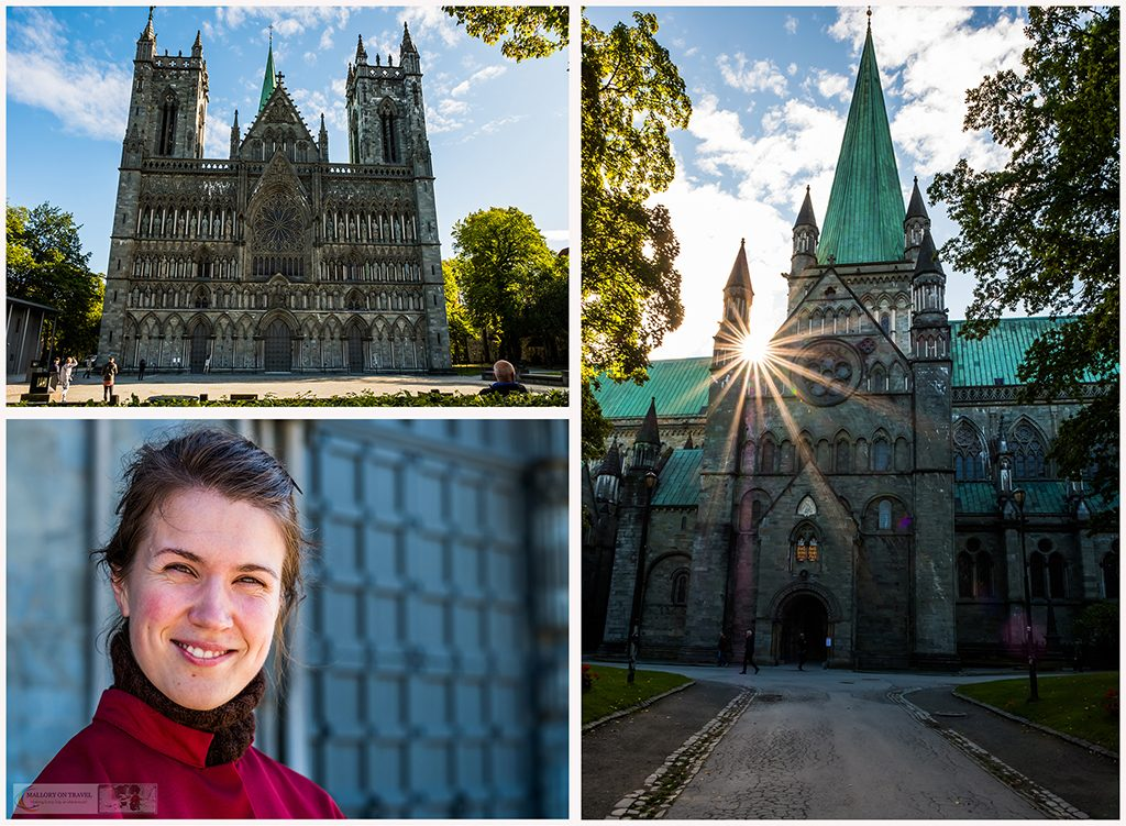 The Nidaros Cathedral, in Trondheim, possible burial place of St Olaf, patron saint of Norway and the eternal king on Mallory on Travel adventure travel, photography, travel Iain Mallory_trondelagmontage-3