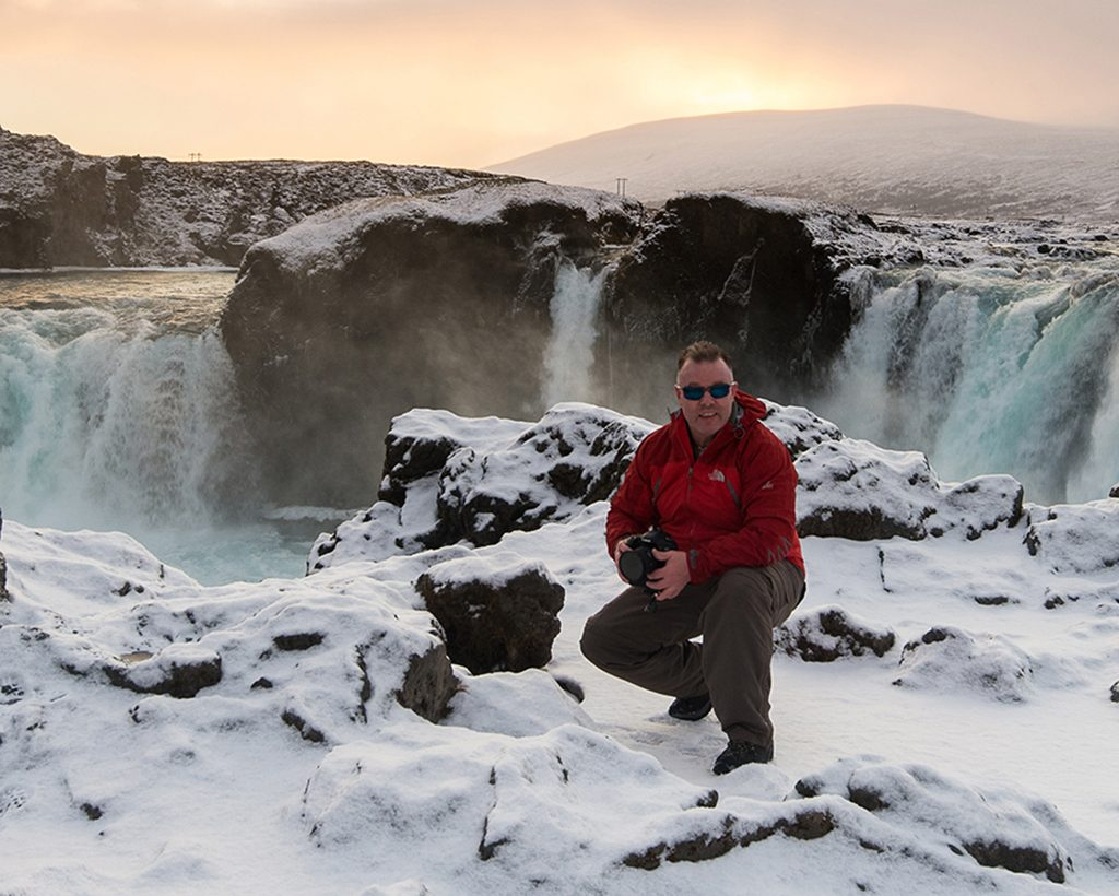 Gođafoss, the waterfall of the gods, on the Skjálfandaflót river in north Iceland near Husavik on Mallory on Travel adventure travel, photography, travel
