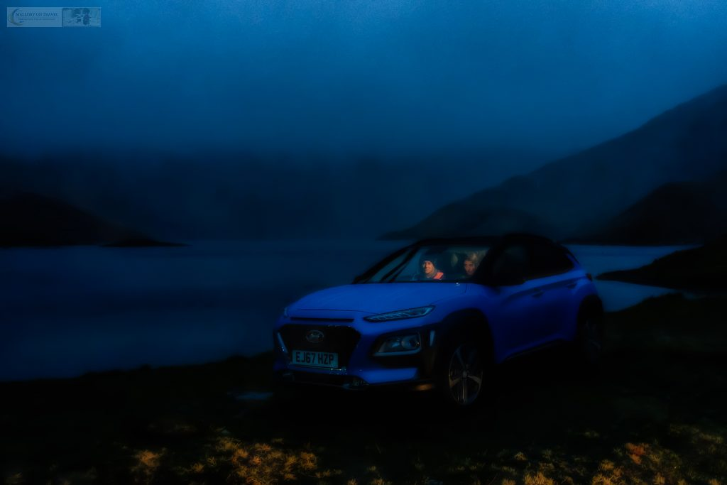Starting the Hyundai Kona 10 Challenge by Lyn Llydaw on the Miner's Track, Mount Snowdon in the Snowdonia National Park, North Wales on Mallory on Travel adventure travel, photography, travel Iain Mallory_Hyundai 009